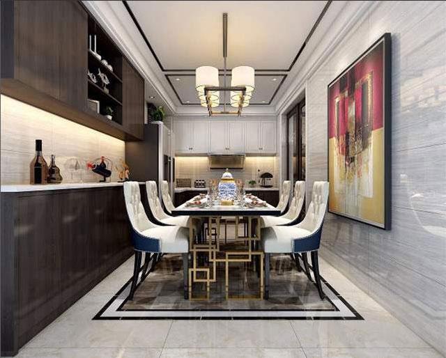 广州装修公司-中小户型餐厅墙面的装饰原则-中小户型餐厅如何装修