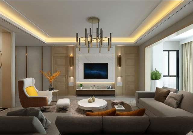 电视背景墙装修设计样式-电视背景墙装修设计技巧-广州装修公司