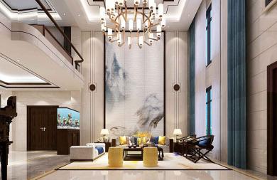 龙湖嘉天下    新中式    别墅