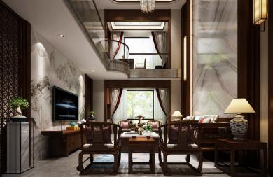 尚江尊品頂樓復式 新中式