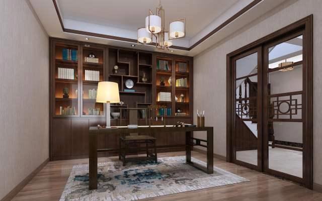书房装修注意事项-书房怎么装修好-华浔装修好不好