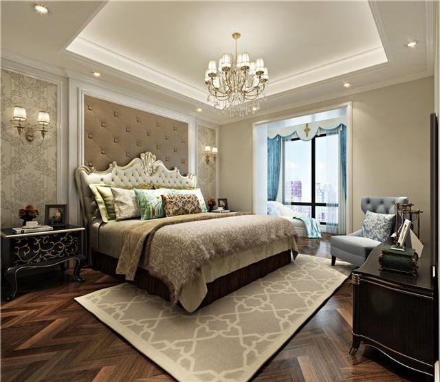 欧式四居室装修-欧式风格装修-欧式装修效果图