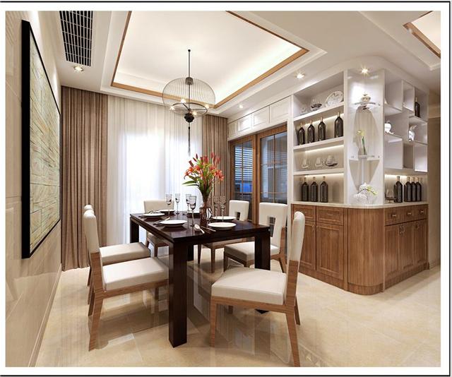 新中式装修效果图-新中式装修特点-广州华浔品味装饰口碑