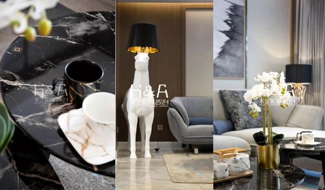 150平现代轻奢-现代轻奢风格特点-现代轻奢风案例