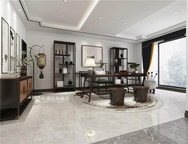 320㎡新中式-新中式装修设计要点-新中式家具特点