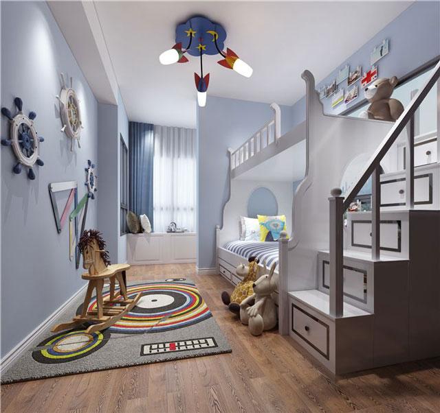 家有二胎儿童房怎么装修-二胎儿童房装修设计