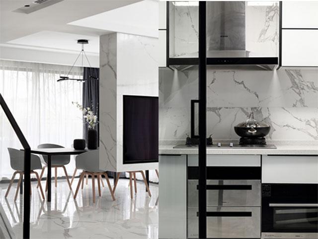现代简约风-现代简约黑白灰-现代简约风家装案例