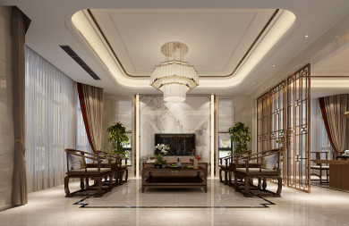 英倫豪城雙拼別墅,新中式風,貴族氣質,品質生活