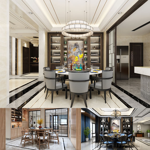 餐厅装修设计-餐厅装修效果图-餐厅如何装修