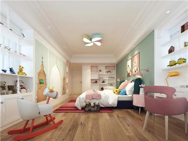 兒童房怎么裝修好看-兒童房裝修設計效果圖-兒童房設計案例