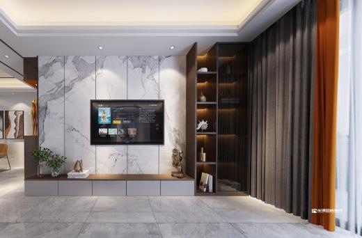 翰林華府,現代輕奢風,小居室的時尚